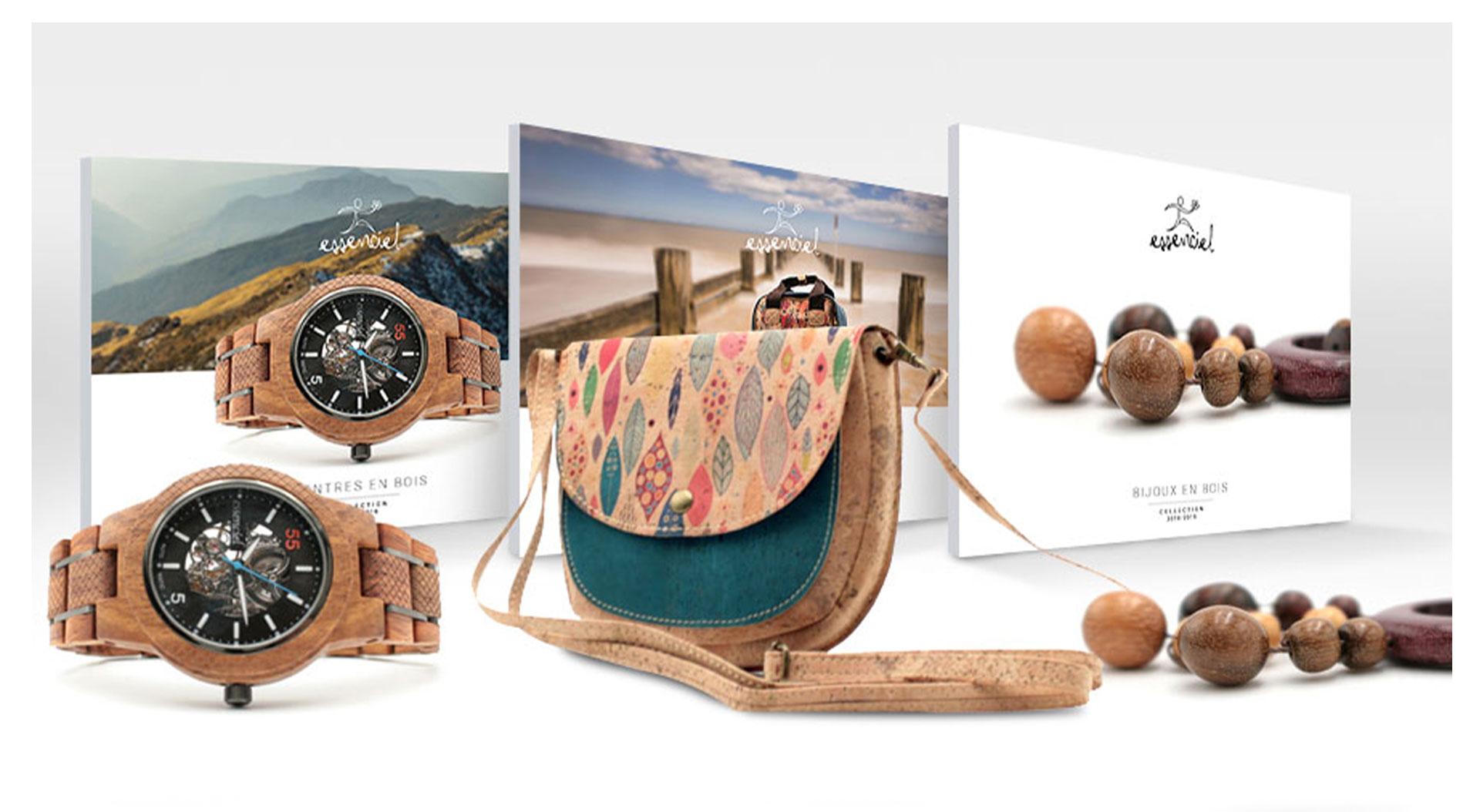 cd35df4c272 Essenciel - Bijoux et montres en bois